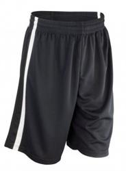 Spiro Basketball Shorts-Black