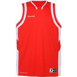 Spalding All Star Basketball Vest-Red/White