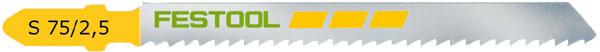 Festool S 75/2.5, Jigsaw Blade