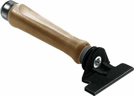 Insertion tool for Tab V shelf fastener