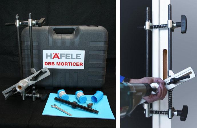 DBB2 offset mortice jig