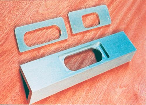 Routing jig for Soss hinges