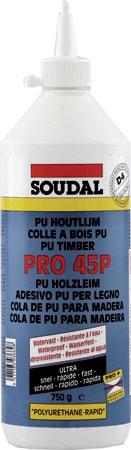 Waterproof PU timber adhesive