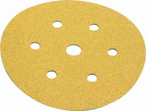 Sanding discs, 150 mm, self adhesive