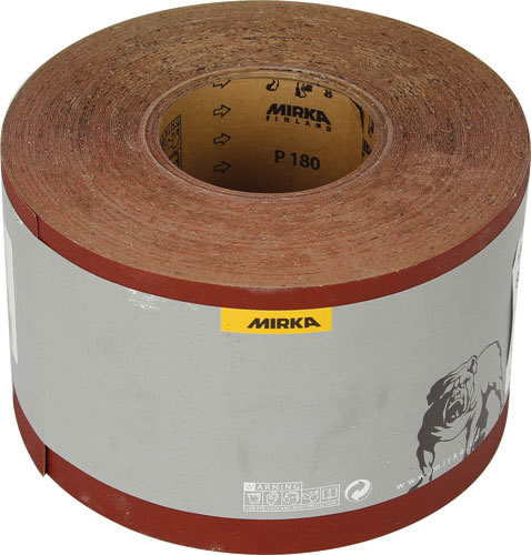 Abrasive Roll, 115 Mm Wide