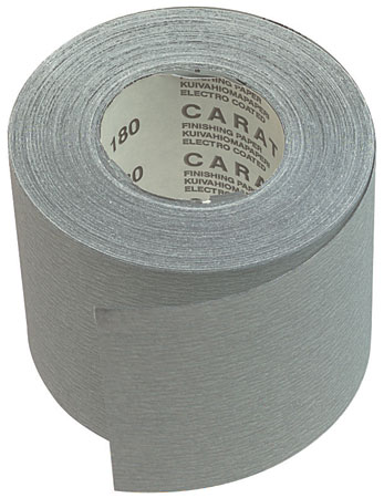 Caratflex abrasive roll
