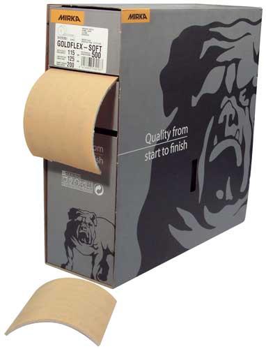 Softflex Abrasive Roll, 220 Grit Grade
