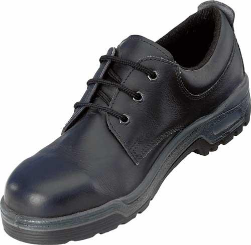 Tie work shoe