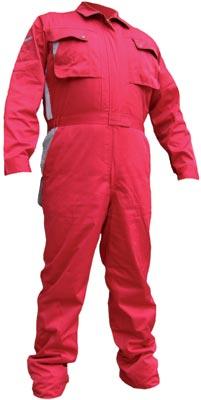 Premium boiler suit, red