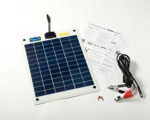 FLEXI PV 10W Flexible Solar Panel Kit