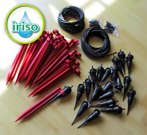 single adjustable dripper Iriso Drip Feeder Plant Irrigation Kit