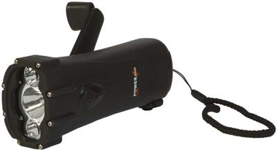 PowerPlus Shark Waterproof Wind-up Torch