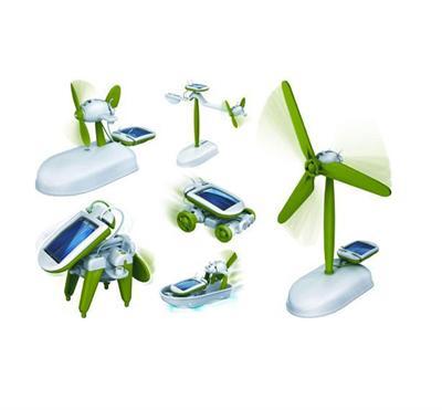 PowerPlus Chameleon 6 in 1 Solar Powered Educational Toy Kit