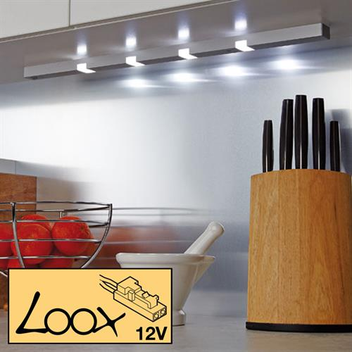 Loox LED 2003 Down light with sensor switch, 12V/3.0 or 3.6W
