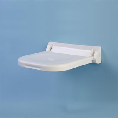 Shower Seat One Piece Back Plate 380mm Projection