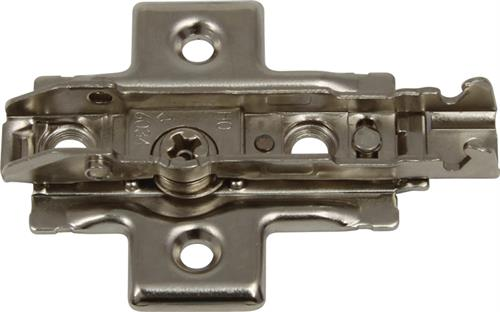 Cruciform mounting plate, 4 point fixing
