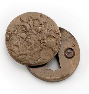 Louis Fraser 373 Antique Round Covered Escutcheon