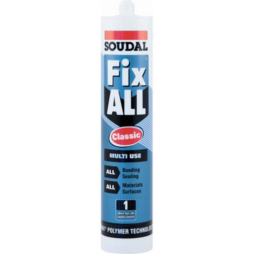 Fix All Classic multi-purpose SMX sealant and adhesive