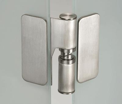 Glass Patch Fitting Heavy Duty Hinge Set
