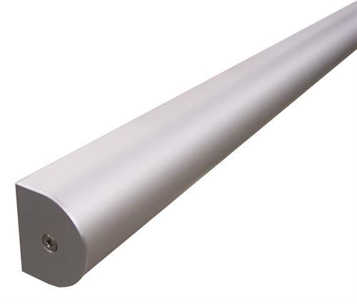 Headrail D Profile Aluminium T990