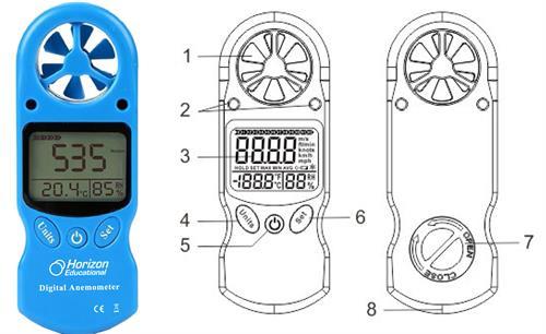 Horizon Digital Anemometer