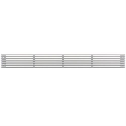 Ventilation Grill, 480 x 100mm, for recess mounting
