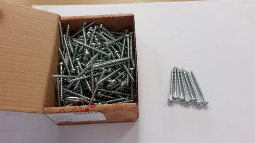 Hospa Screw -Pan Head 6.0x70mm Bright Zinc Plated