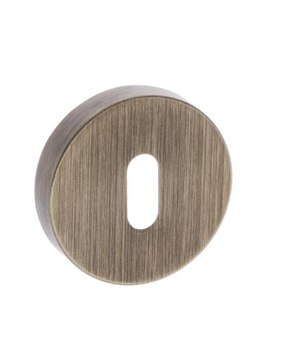 Forme Minimal Round Rose Key Escutcheon