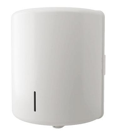Centrefeed Dispenser, White Abs