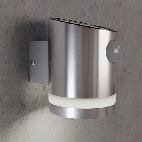 Truro Solar Motion activated wall light (SS9931)