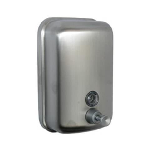 Satin Stainless Steel Soap Dispenser