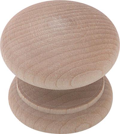 Knob, 49 mm Oak finish
