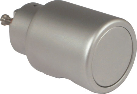 Fixed handle, zinc alloy housing, 35 mm
