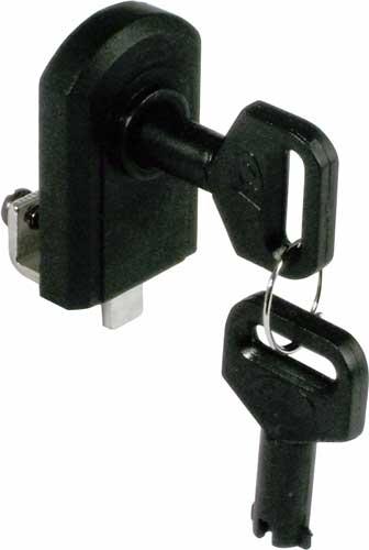 Glass door lock, no drilling required