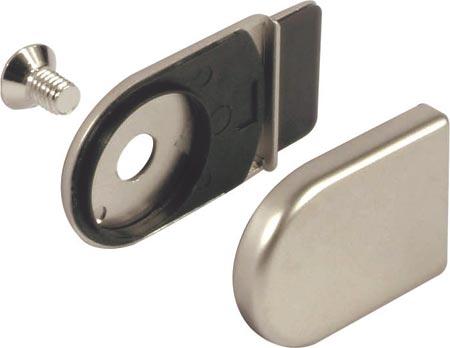 Trim cap and closure plate