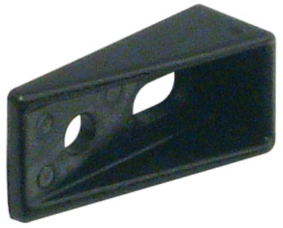 Stop wedge for central locking system