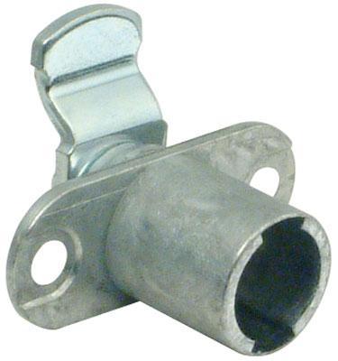 Cam lock case, inward cranked lever