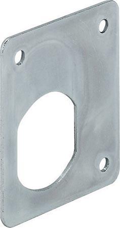 Locking plate for cam locks