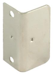 Striking plate, angled, 40 x 20 mm