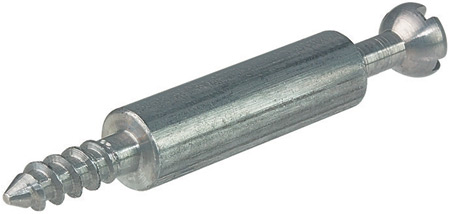 Minifix 15 connecting bolt, for 3 or 5mm diameter holes