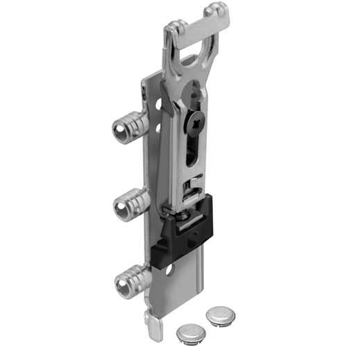 Cabinet hangers, press-fit dowels/screw mounting