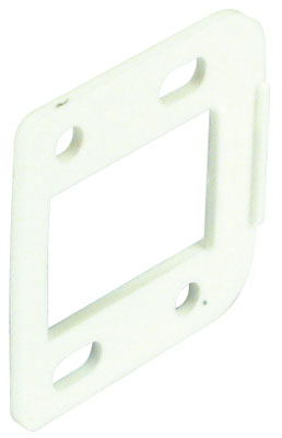 Spacer plate for easy mount concealed hinge