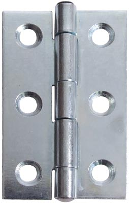 Butt hinge, 50 x 31 mm