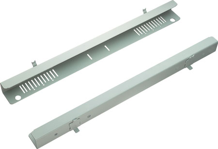 Filing end rails for System 400/460 shelves