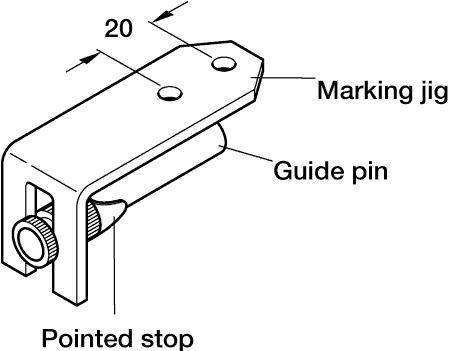 Minifix GV precision marking gauge