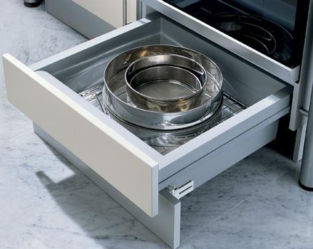 Under Oven Drawer Set 558 61 536