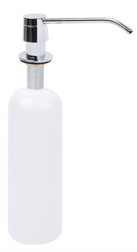 Vanity worktop soap dispenser