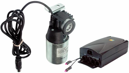 Height adjustable system motor and control box