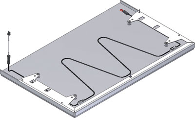 Safety stop plate