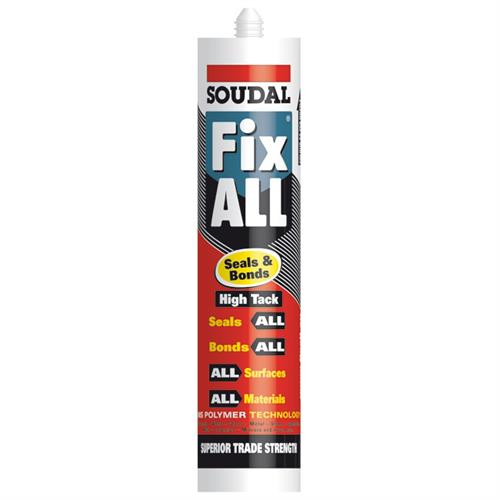 Fix All high tack seals and bonds sealant and adhesive